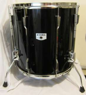 FREE SHIP! TAMA ROCKSTAR DX 16 FLOOR TOM DRUM, 1980s Vintage JAPAN