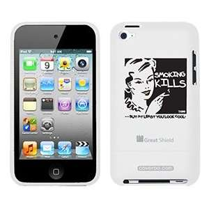 Smoking Kills TH Goldman on iPod Touch 4g Greatshield Case