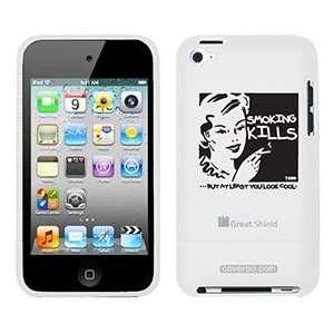 Smoking Kills TH Goldman on iPod Touch 4g Greatshield Case