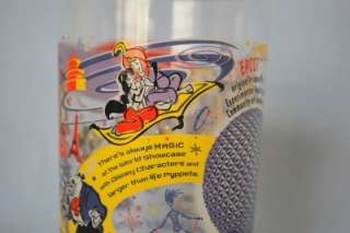WALT DISNEY WORLD VINTAGE GLASS CUP 100 YEARS MAGIC MICKEY MOUSE BUZZ