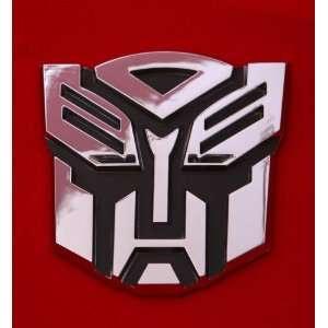 Transformers Autobot Car Chrome Badge Emblem 3d Logo