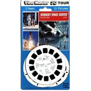 View Master 3D 3 Reel Card Kennedy Space Center Florida